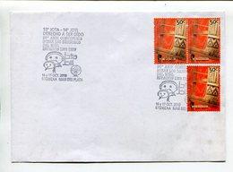 JOTA - JOTI, DERECHO A SER OIDO, DERECHOS DEL NIÑO, SCOUT. ARGENTINA 2010 SOBRE ENVELOPE SPC SPECIAL COVERS  -LILHU - Infancia & Juventud