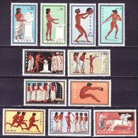 GREECE 1960 Olympic Games Rome Complete MNH Set Vl. 800 / 810 - Griekenland