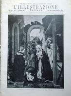 L'Illustrazione Italiana 23 Dicembre 1917 WW1 Natività Arte Milano Papi Fiandre - Guerra 1914-18