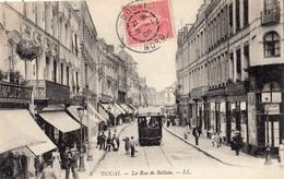 DOUAI LA RUE DE BELLAIN (TRAMWAY) - Douai