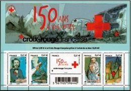 """FR Bloc YT F4910 Feuille """" La Croix-Rouge """" 2014 Neuf** - Sheetlets"""