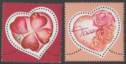 France Neuf Sans Charnière 2003 Saint-Valentin Coeur Du Couturier Torrente Haute-couture YT 3538 3539 - France