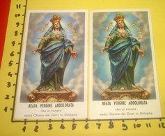 BEATA VERGINE ADDOLORATA Venerata Chiesa Dei Servi Bologna SANTINO A.L.M.A. Lotto Santini Varietà Colore - Devotion Images