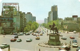 CABALLITO CON PASEO DE LA REFORMA-VIAGGIATA - Messico