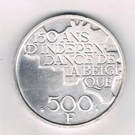 500 FRANC 1980 FR  BELGIE /5362/ - 1951-1993: Baudouin I