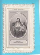 """Image Religieuse Dentelle Canivet """"Amitié Chrétienne"""" St Grégoire De Nazianze - Devotion Images"""