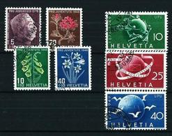 Suiza Nº 467/70-474/6 USADO - Switzerland