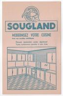 - BUVARD SOUGLAND - MODERNISEZ VOTRE CUISINE Avec Nos Meubles Métalliques - - Vloeipapier