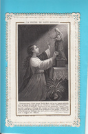 """Image Religieuse Dentelle Canivet """"Prière De Saint-Bernard"""" - Devotion Images"""