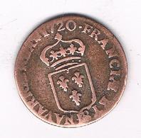 LIARD 1720 FRANKRIJK /5367/ - 987-1789 Monnaies Royales