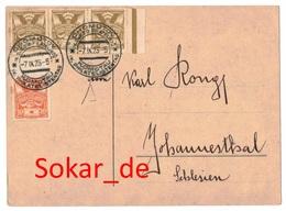 Postkarte Mit Sonderstempel Komotau, IV. Philatelistentag, 1923, Sudetenland - Briefe U. Dokumente