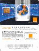 HONG KONG - Baby, Orange/Hutchison Telecom GSM, Used - Hong Kong