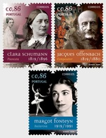 H01 Portugal 2019 Figures In World History And Culture MNH Postfrisch - 1910-... Republik