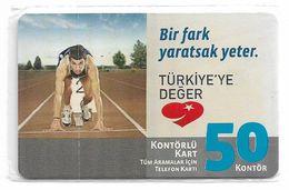 Turkey - TT (chip) - C-261 - Bir Fark Yaratsak Yeter #2, 2010, 50U, 3.000ex, NSB - Turkey