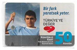 Turkey - TT (chip) - C-265 - Bir Fark Yaratsak Yeter #4, 2010, 50U, 3.000ex, NSB - Turkey