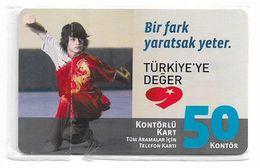 Turkey - TT (chip) - C-266 - Bir Fark Yaratsak Yeter #5, 2010, 50U, 3.000ex, NSB - Turkey