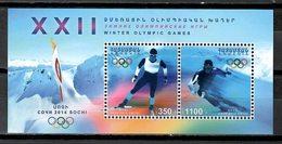 Armenia 2014 / Winter Olympics Sochi MNH Juegos Olimpicos Invierno / Cu9614  34-15 - Invierno 2014: Sotchi