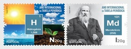 H01 Portugal 2019 International Year Of The Periodic Table MNH Postfrisch - 1910-... Republik