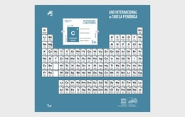 H01 Portugal 2019 International Year Of The Periodic Table - 1910-... Republik