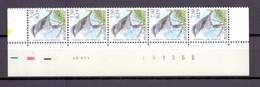2986 KLAPEKSTER DATUMSTRIP 12X01 POSTFRIS** A317 - 1985-.. Birds (Buzin)