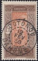 Dahomey 1912-1944 - Cotonou Sur N° 96 (YT) N° 95 (AM). Oblitération. - Dahomey (1899-1944)