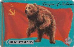 UK (Mercury) - Russian Soviet Bear - MER094 - 20MERA - 4.946ex, Used - Reino Unido