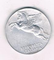 10 LIRE 1949 R ITALIE /5379/ - 1946-… : République