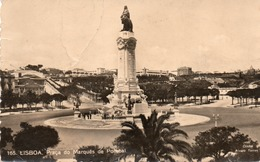LISBOA-PRACA DO MARQUES DE POMBAL-VIAGGIATA -VERA FOTO - Lisboa