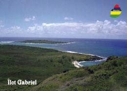 1 AK Mauritius * Ansicht Der Insel Gabriel * - Mauritius
