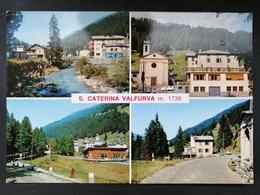 CARTOLINA ANTICA-S.CATERINA VALFURVA-SONDRIO-VEDUTINE-'900 - Italia
