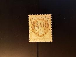 N°28, 10 Cts Bistre,  GC 3405, Sierck, Moselle. - 1849-1876: Klassik