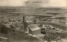 62. CPA. AUCHEL.  Vue Générale No 3. Les Batiments, Cheminée. - France