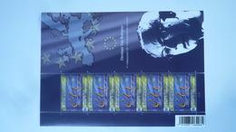 COB F 4048** Neuf- 2010 -  La Présidence Belge Du Conseil De L'Union Européenne. - Feuillet De 5 Timbres - Feuillets