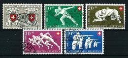 Suiza Nº 497/501 USADO - Suiza