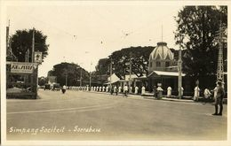 Indonesia, JAVA SOERABAIA, Simpang Sociteit (1920s) RPPC Postcard - Indonesië