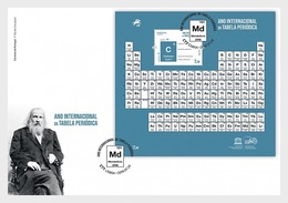 H01 Portugal 2019 International Year Of The Periodic Table FDC - 1910-... Republik