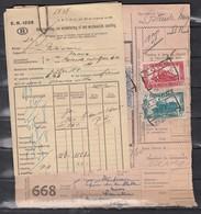 Fragment Met Stempel Mons - Ferrovie