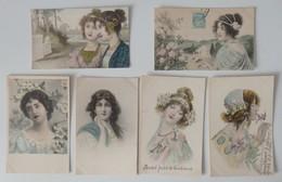 Illustrateur: M. M. VIENNE - Lot De 18 Cartes Postales - Colorisées - Circulées - 4 Scans - Vienne