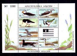 Abkénasie 1994, Oiseaux, Bloc**, - Canards