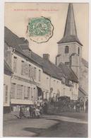 62  BLANGY SUR TERNOISE  -  Place Poste Quincaillerie Bottin Lefrancq -   CPA   N/B  9x14 BE - France