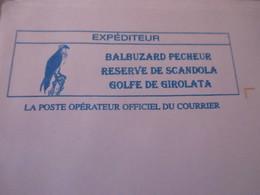 PRET A POSTER CORSE  GOLFE DE GIROLATA LE BALBUZARD PECHEUR Neuf Mint - Entiers Postaux