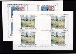 (K 4193e) Tschechische Republik, KB Nr. 26/27** - Blocks & Sheetlets