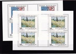 (K 4193e) Tschechische Republik, KB Nr. 26/27** - Blocks & Kleinbögen