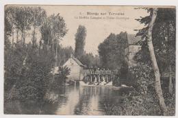 62  BLANGY SUR TERNOISE  -  Moulin Lemaire Usine Electrique -   CPA   N/B  9x14 Neuve - France