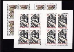 (K 4194a) Tschechische Republik, KB Nr. 39/40** - Blocks & Sheetlets