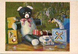 """""""REGALOS DE NAVIDAD"""" E. LAMPHIER, PINTOR SIN MANOS. TARJETA DE NAVIDAD CHRISTMAS CARD CIRCA 1965 - LILHU - Navidad"""