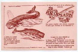 - BUVARD CAHIERS RONSARD - Lequel Est Le Cachalot ? - - Stationeries (flat Articles)