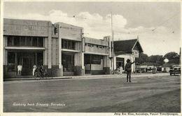 Indonesia, JAVA SOERABAIA, Goebeng Corner Simpang, Police (1920s) Postcard - Indonesië
