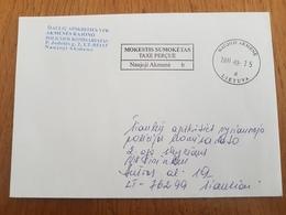 Lithuania Litauen Cover Sent From Naujoji Akmene To Siauliai 2011 - Lituania