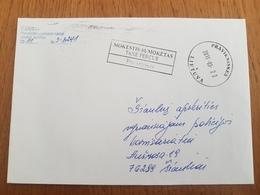 Lithuania Litauen Cover Sent From Pravieniskes To Siauliai 2011 - Lituania